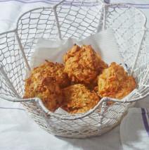 Polpette di pollo croccanti