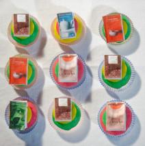 Reader's cupcake ( i miei cupcake dei lettori incalliti )