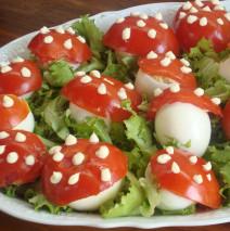 Le uova sul prato