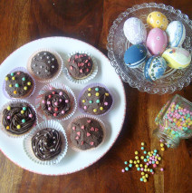cupcakes all'arancia e cioccolato