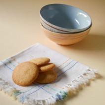 Biscotti con farina di riso e mandorle (si sciolgono in bocca)