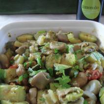 Minestra di fave fresche e zucchine come la faceva nonna