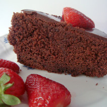 Torta al cioccolato e ( coca cola shhhhhh! )