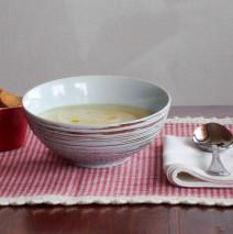 Zuppa di daikon e patate