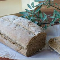 Soda bread ( pane senza lievito a basso contenuto glicemico )