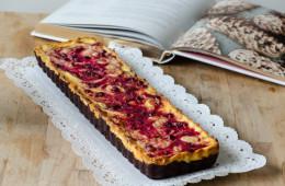 Brownies  cheesecake e mirtilli