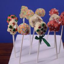 Cake pops di Natale