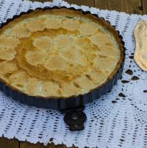 Crostata limone mandorle e semi di papavero