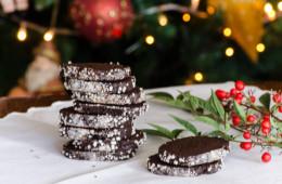 Frollini di avena e farina integrale al cacao