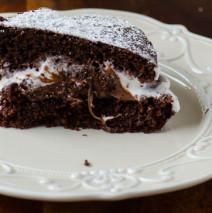 Golosissima al cioccolato ( torta Kinder Delice )