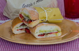 Pane cunzatu ricetta siciliana