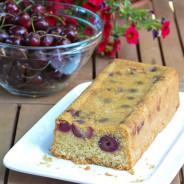Plum cake con ciliegie
