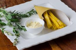 Sgagliozze ( polenta fritta )