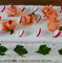 Torta di tramezzini ( o gastronomica )
