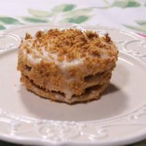 Tortini nocciola e mandorla con doppia crema